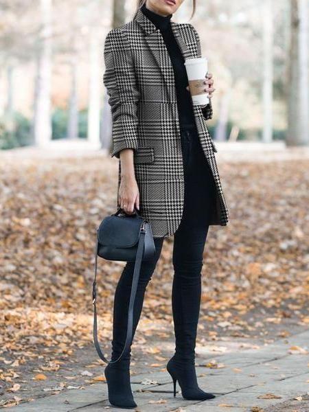 Produit Automne et hiver veste de costume d'impression vintage Marque Nom Cojolly SKU …