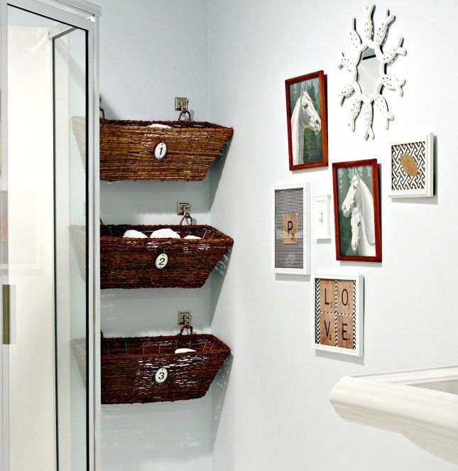 Your Tiny Bathroom is Now Huge: 20 Space Savers to Buy or DIY   Brit + Co.