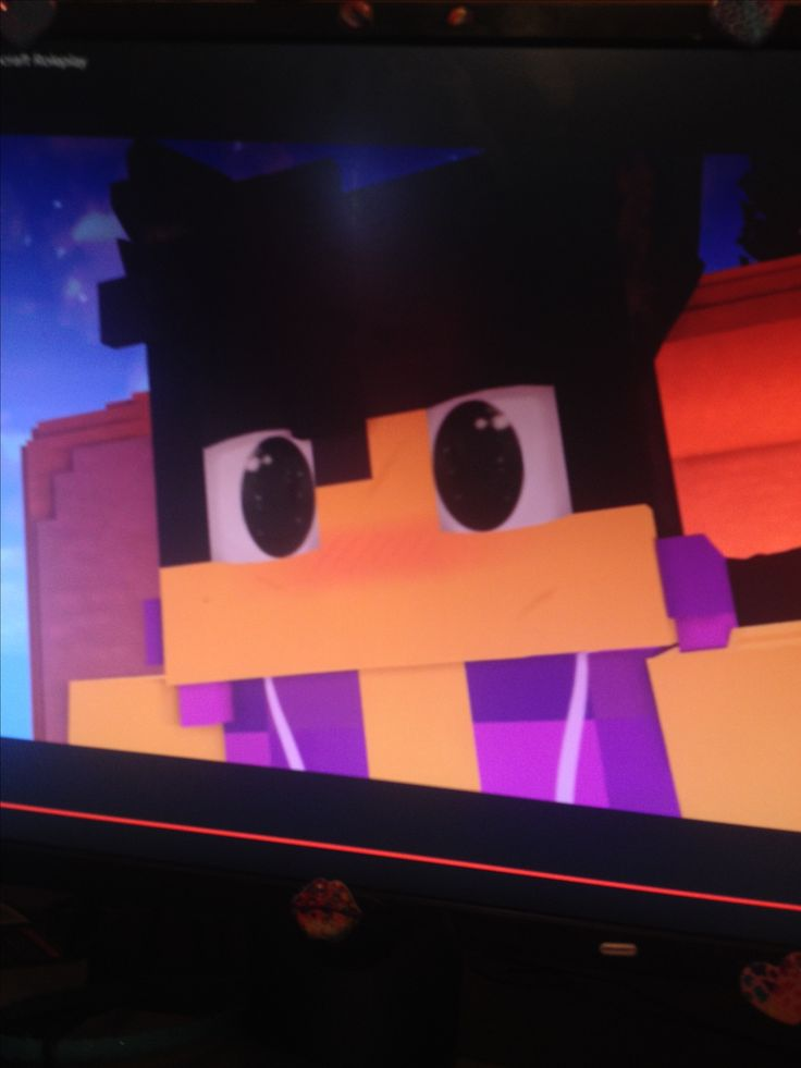When Aaron saw Aphmau's ears and tail!