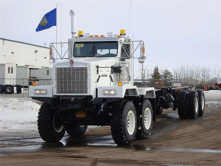 2011 a Kenworth C500 in Nisku, Alberta, Canada with a ...