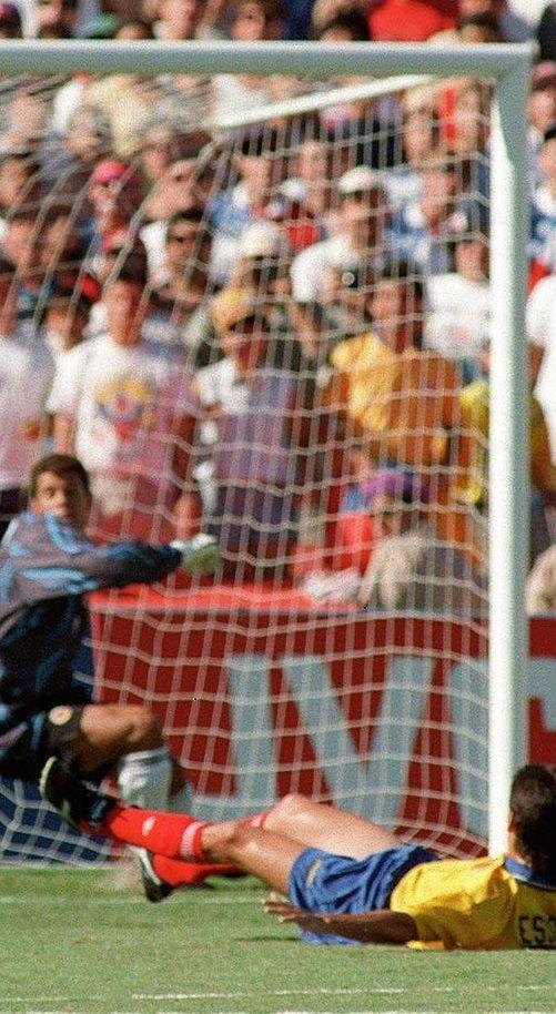 1994 FIFA World Cup - Andres Escobar own goal