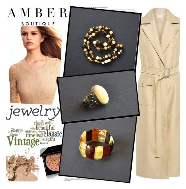 AMBER Boutique by gaby-mil on Polyvore featuring polyvore, fashion, style, C/MEO COLLECTIVE, Bobbi Brown Cosmetics, Givenchy, Chanel, 1928, clothing, ring, jewelry, bracelet, necklace and amberboutique