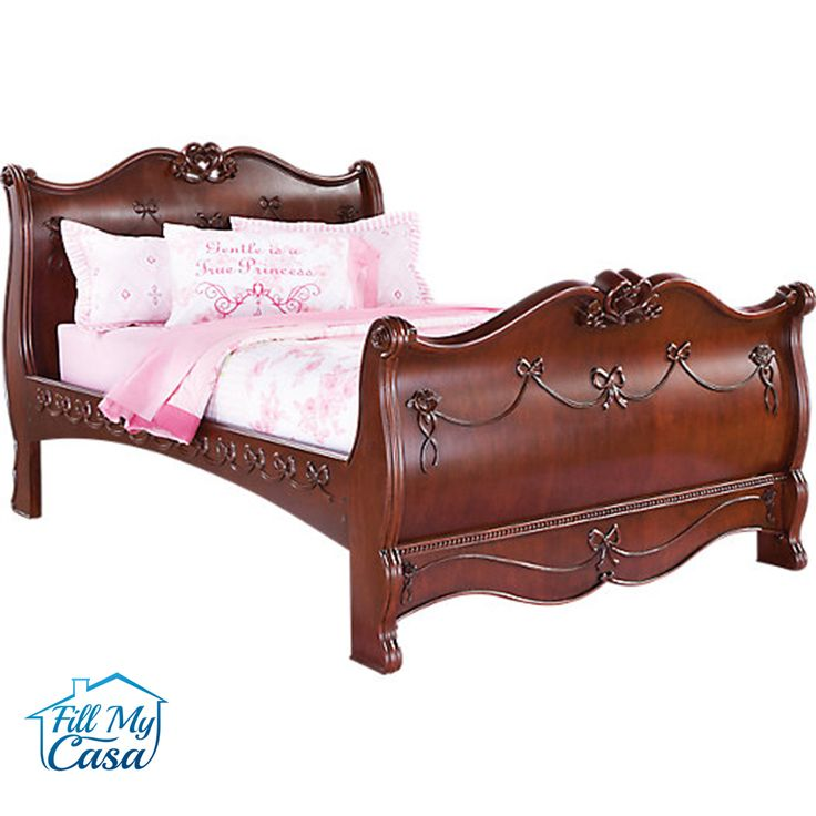 marble top bedroom furniture%0A picture of Disney Princess Cherry   Pc Full Sleigh Bedroom from Disney  Princess Furniture