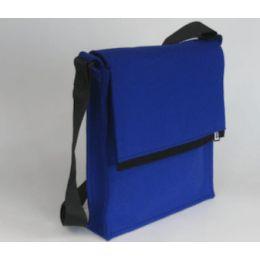 LH58 tas A4 formaat in kobaltblauw vilt: leuk cadeau http://shop.holland.com/lh58-a4-schoudertas-blauw/