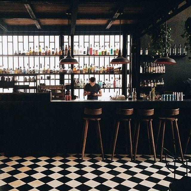 Modern, Minimalist, Industrial Or Retro Style Bars. Learn