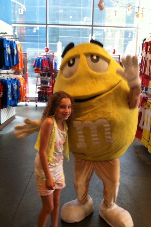 New York City m&m store