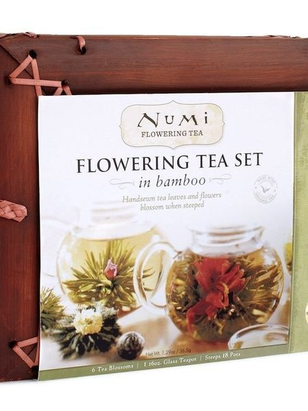 Numi Organic Tea Flowering Gift Set