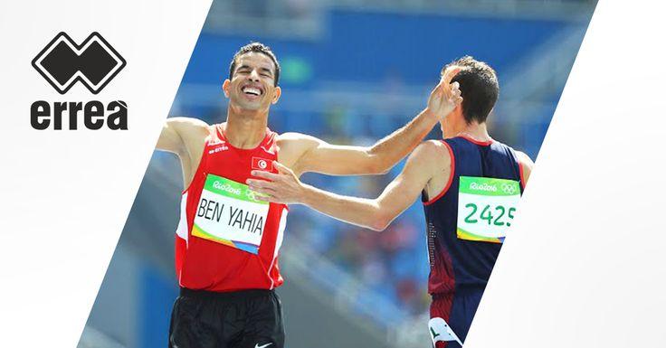 #Erreà le partenaire des champions au Jeux Olympiques de Rio 2016 ! #Sport #Tunisie #Rio2016 #AmorBenYahia