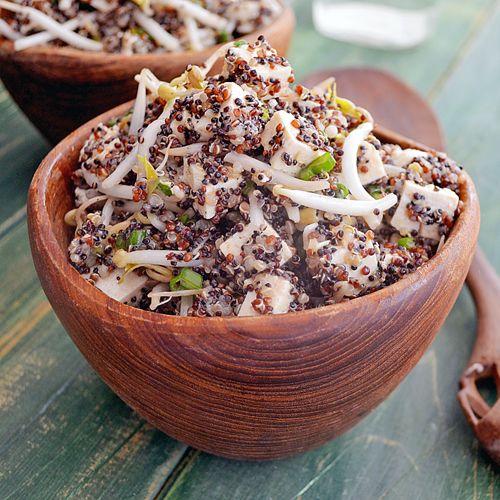 Salade de Tofu et Quinoa aux Saveurs Asiatiques
