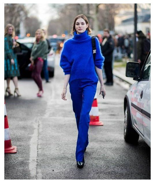 #royal #blue #pullover #outfit #royalbluepulloveroutfit | Blue sweater outfit, Royal blue outfits, Pullovers outfit