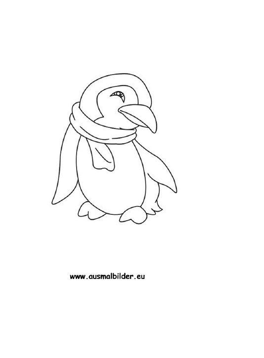 ausmalbild pinguin in 2020  ausmalbild pinguin