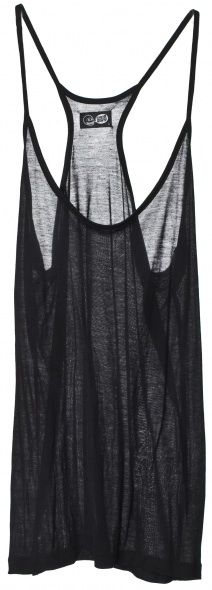 So-soft tissue tank. Make it a cover up for a swim suit or bandeau top, or layer it up. $22 from weekday.com