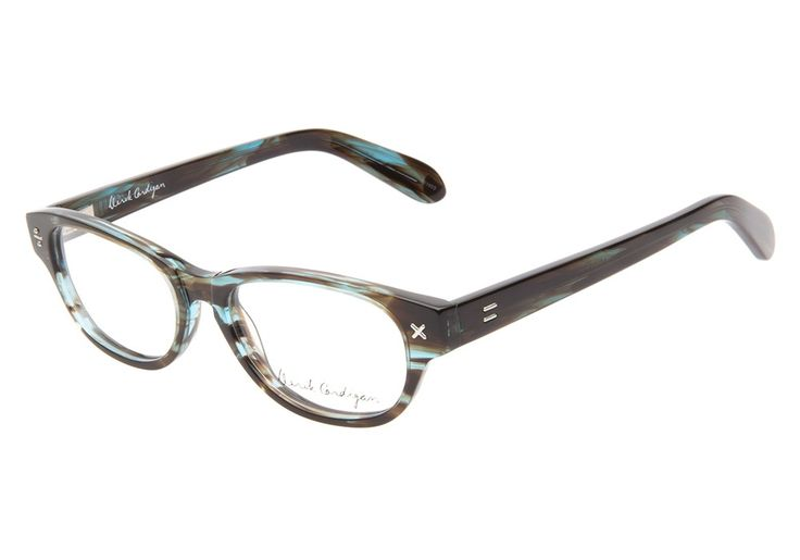 Derek Cardigan 7009 Azure Brown eyeglasses. Get low prices, superior customer service, fast shipping and high quality, authentic products. from @ClearlyContacts