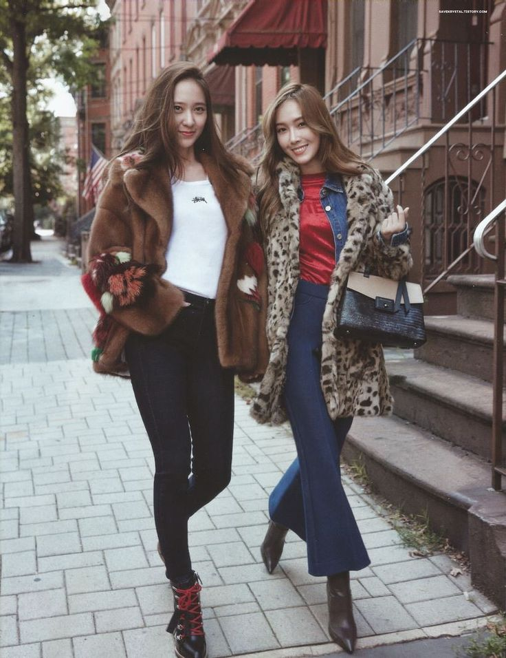 Krystal & Jessica - Cosmopolitan Scan by savekrystal
