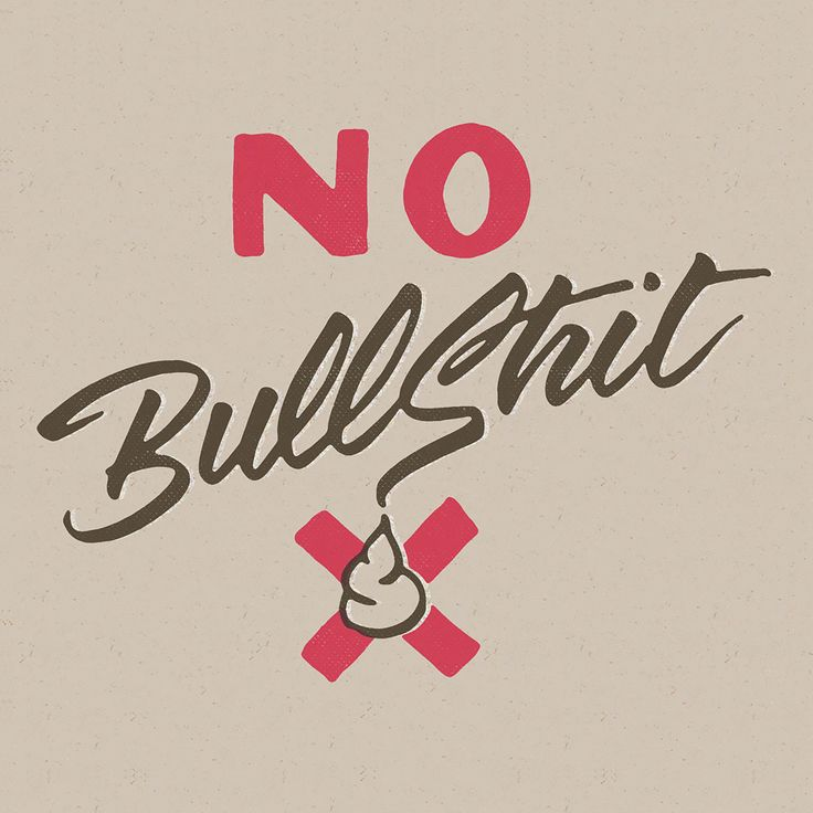 No bullshit by andreas carlson, earth people