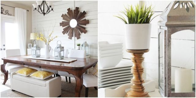 A Dark Dining Room Brightens Up for Spring - GoodHousekeeping.com