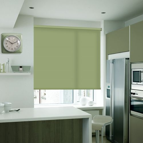 Richmond Moss Green Roller blinds