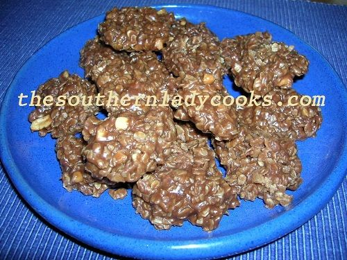 If you like chocolate and peanut butter together, you'll love these great no-bake cookies!  These make great gifts, too. 2 cups white sugar 1 stick butter or margarine 1/2 cup peanut butter (I use ...