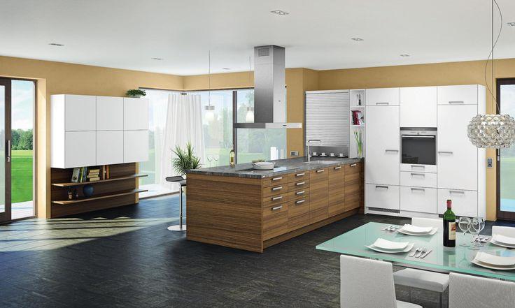 ber ideen zu einbauk che auf pinterest k che tisch nobilia und arbeitsplatte. Black Bedroom Furniture Sets. Home Design Ideas