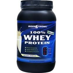 BODYSTRONG 100% Whey Protein - Natural Vanilla 2 lbs