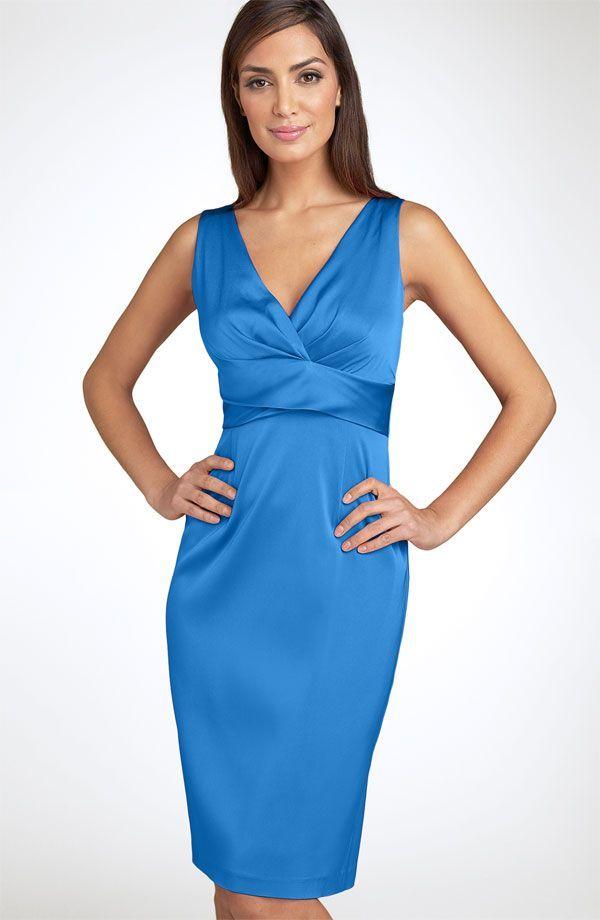 yo elijo coser: Patrón gratis: vestido con escote en V para múltiples usos (verano, invierno, fiesta, trabajo...)