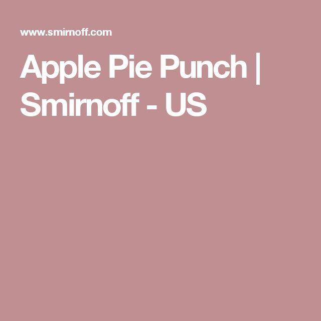 Apple Pie Punch | Smirnoff - US