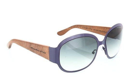 Stella Mc Artney Womens Grey shaded Organic Sunglasses lenses 55 mm