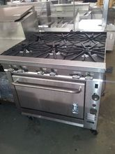 "Montigue 36"" 6 Burner Range w/ Convection Oven, Convection Oven, Montigue, Range, 6 Burner, Used Restaurant Equipment Orlando, Orlando Used Restaurant Equipment, Restaurant Equipment Orlando"