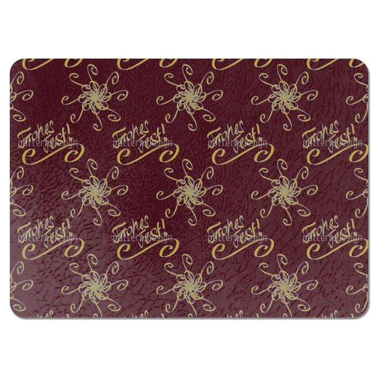 Uneekee Holy Days Brown Placemats (Set of 4) (Holy Days Brown Placemat) (Polyester)