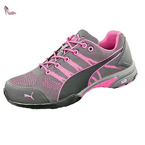 Puma  642910.39 Celerity Knit Pink Chaussures de sécurité pour Femme Low S1 HRO SRC Taille 39 - Chaussures puma (*Partner-Link)