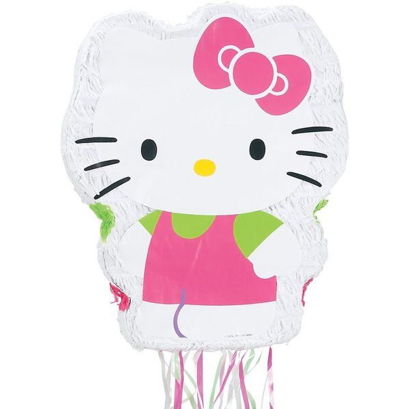 Check out Hello Kitty Pinata (Each) - Cheap Pinatas Accessories and Decorations from Wholesale Party Supplies