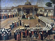 História da Turquia – Wikipédia, a enciclopédia livre Sometimes you need to look at life from a different point of view 1789 painting showing the Ottoman Sultan Selim III in audience in front of the Gate of Happiness, the Topkapı Palace, the imperial residence and center of power of the Ottoman Empire