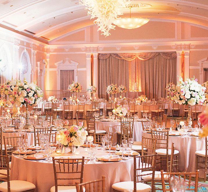 Best 25+ Ballroom Wedding Reception Ideas On Pinterest