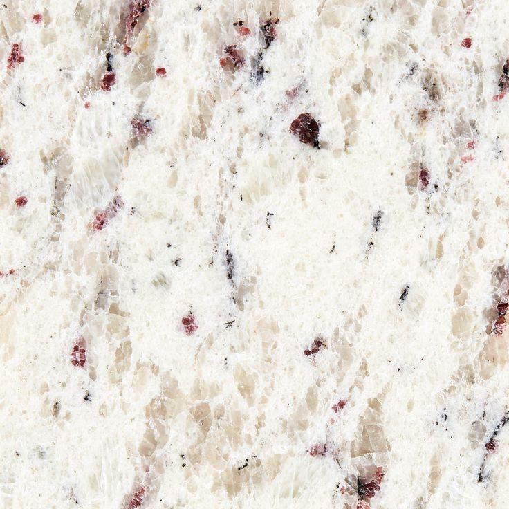 Ready To Install Ornamental White Granite Slab Includes