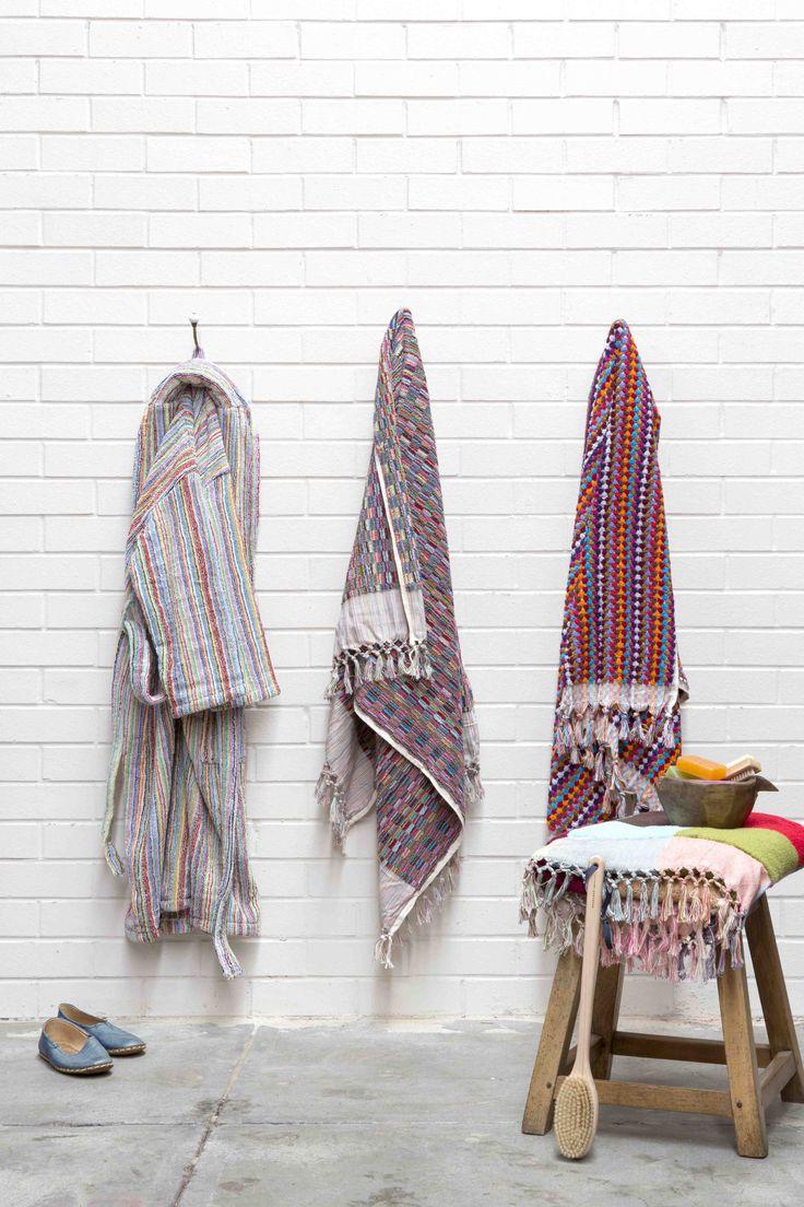 Ottoman Hamam Boucle certified organic handloomed towels at ottomanhamam.com.au. Styling by me; photography by Angelita Bonetti.