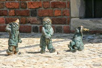 happy dwarfs / Wrocław, Poland