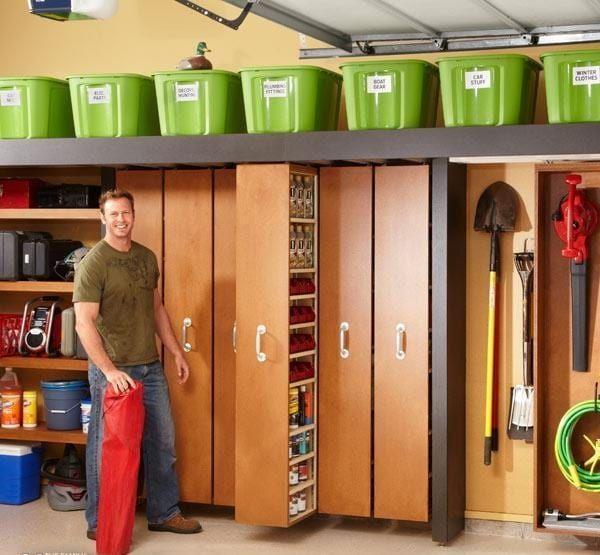 20 Super Idees De Rangement Pour Avoir Un Garage Toujours Impeccable Idee Rangement Rangement Maison Rangement