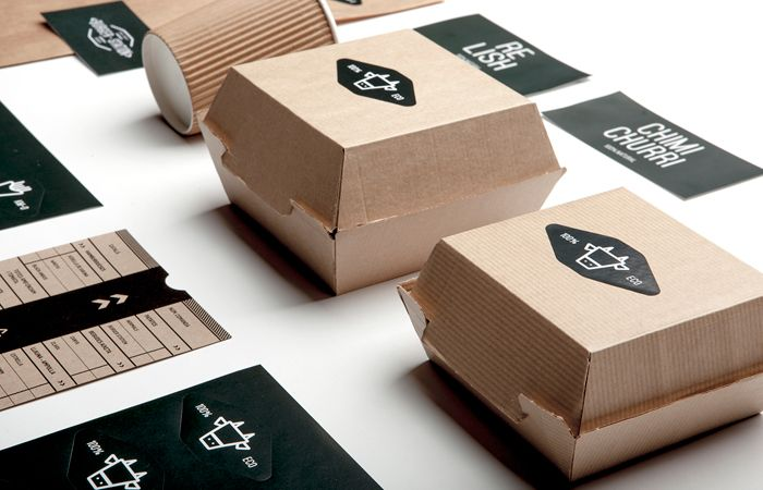 Burger Station - TheDieline.com: The Leading Package Design Blog
