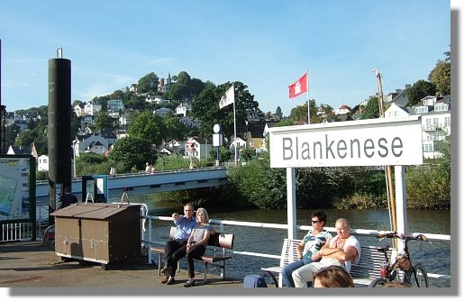 Hamburg's prettiest suburb Blankenese