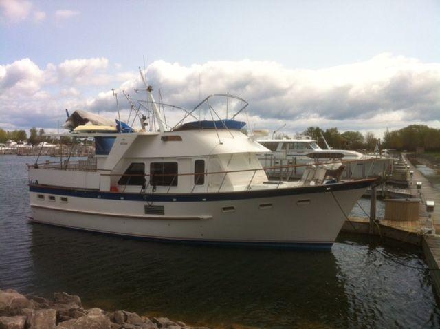 DeFever 44 trawler for sale