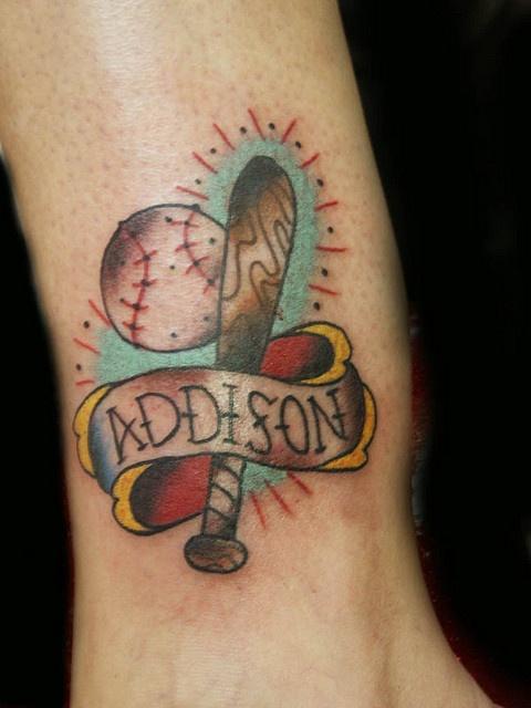 1000 images about baseball tattoos on pinterest. Black Bedroom Furniture Sets. Home Design Ideas