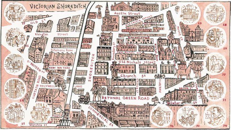 victorian shoreditch map