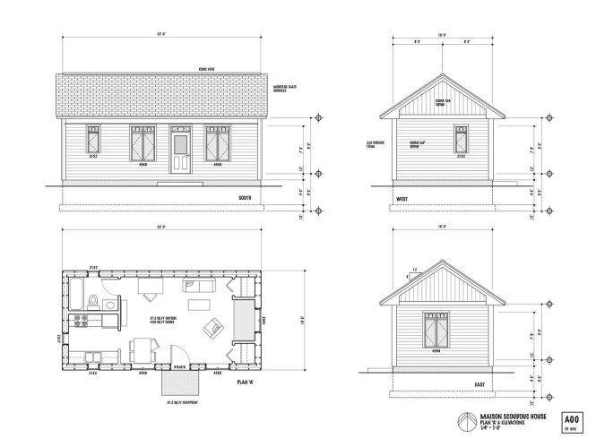 Plan De Maison Plan De Chalet Plan De Garage 12