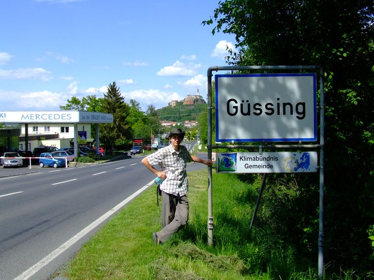 Güssing is not only a pretty town, but it is also famous about the successful use of renewable energy (Austria, 2008)
