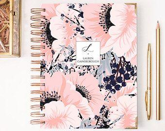 2018 Planner - Weekly Planner - 2018 Weekly Planner - Planner - Custom Planner - 2017-2018 Planner - 2018 Diary - College Planner -