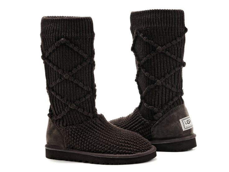 Uggs Classic Argyle Knit Chocolate