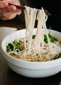 A recipe for Prime Rib Pho. Save those prime rib roast bones and make a delicious Vietnamese style noodle soup!