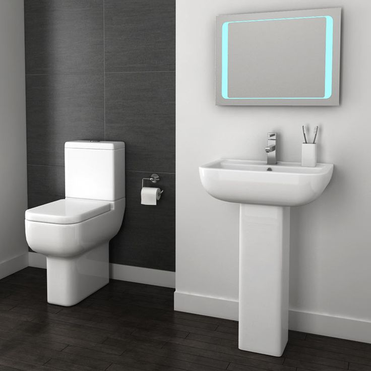 Pro 600 Modern Comfort Height Toilet with Soft Close Seat Profile Large Image
