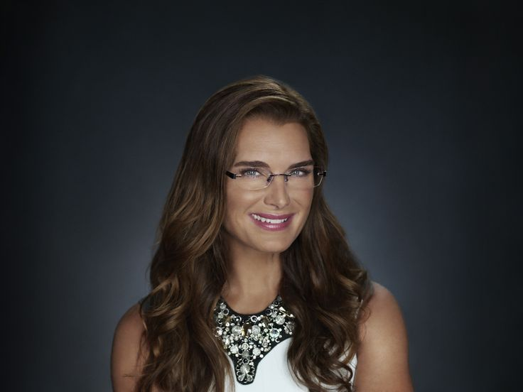 Hollywood Icon Brooke Shields In Her Foster Grant Crystal