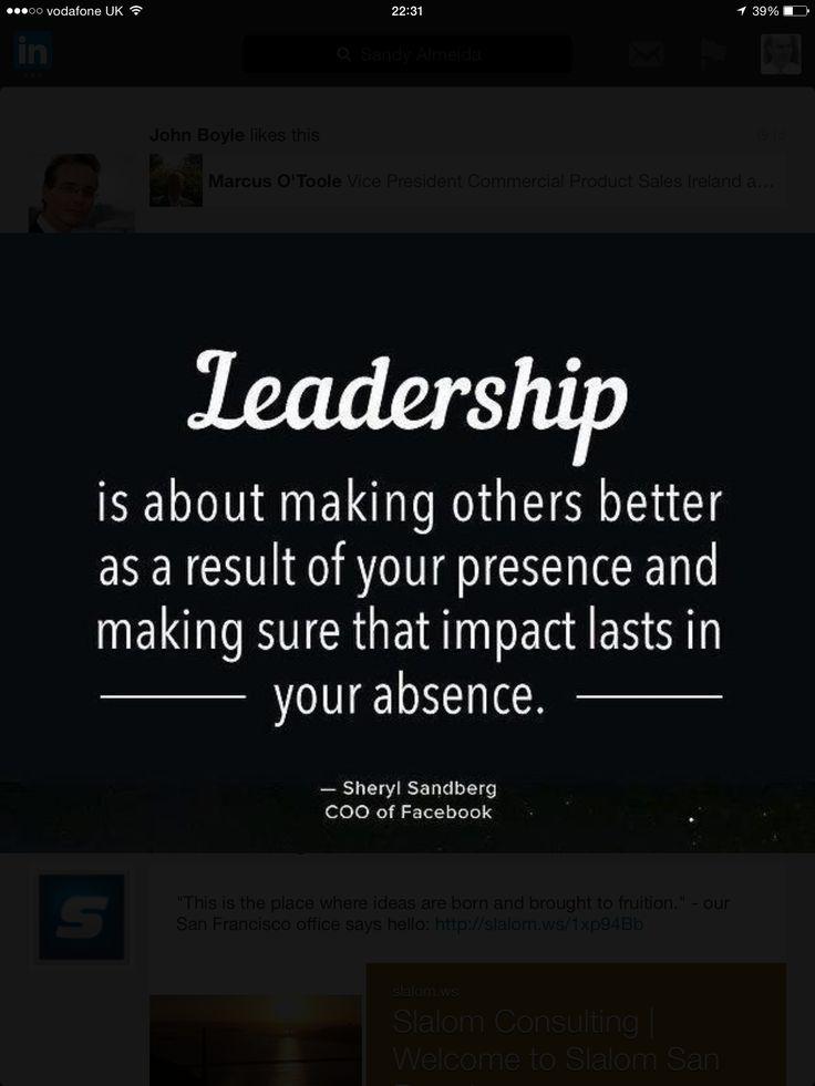 Leadership moto